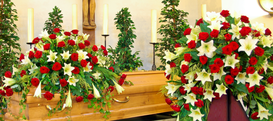 funeral flower costs