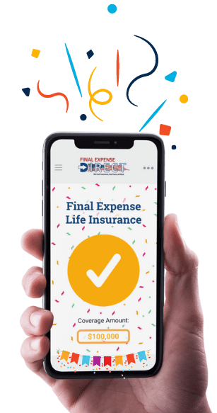 Got an Online Quote from Final Expense Direct - Party Time